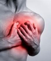 göğüste ağrı